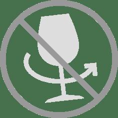通常ワインで行っているグラスを回すスワリングは、絶対に行わないで下さい。